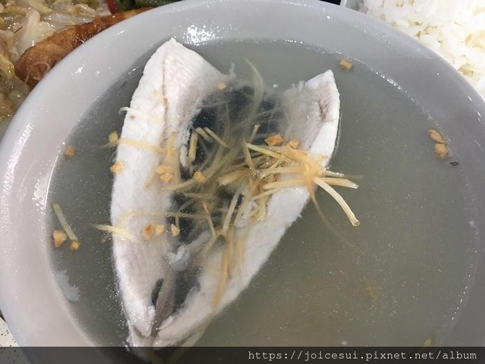 虱目魚肚湯(無刺) 85元
