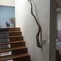 樓梯旁有一間四人房
