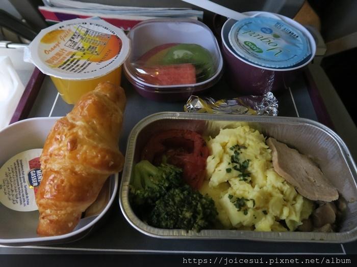 飛機餐(早餐)