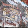 曼谷大皇宮(泰語: พระบรมมหาราชวัง) 位於曼谷拍那空縣