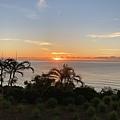 這次看到太平洋的日出了~~