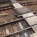 追分站鐵軌