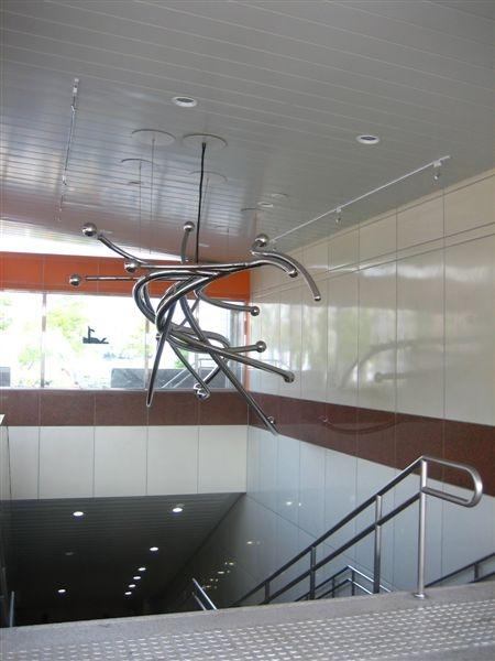 鳳山西站1號出口裝置藝術