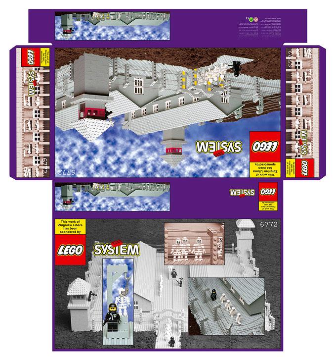 樂高 猶太 集中營 LEGO