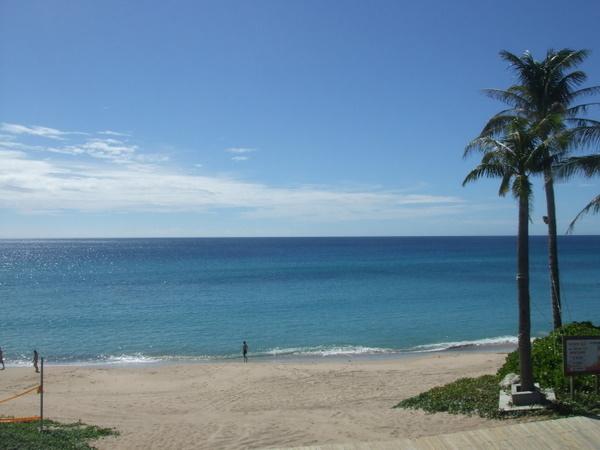 夏都飯店的沙灘