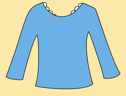 蕾絲邊衛生衣2