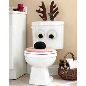 xmas toilet