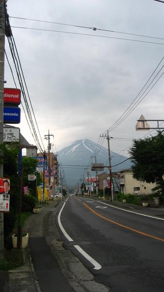 往富士山方向