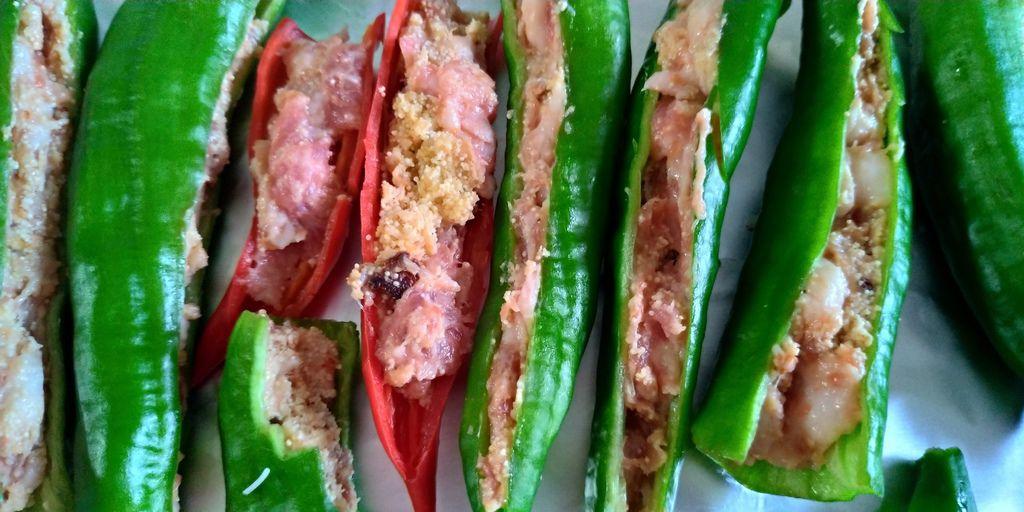 辣椒鑲肉 3