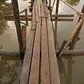 讓人害怕的獨木橋...