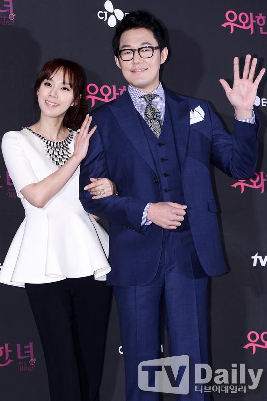 新劇《優雅的她》製作發佈會_吳賢慶&朴成雄_1