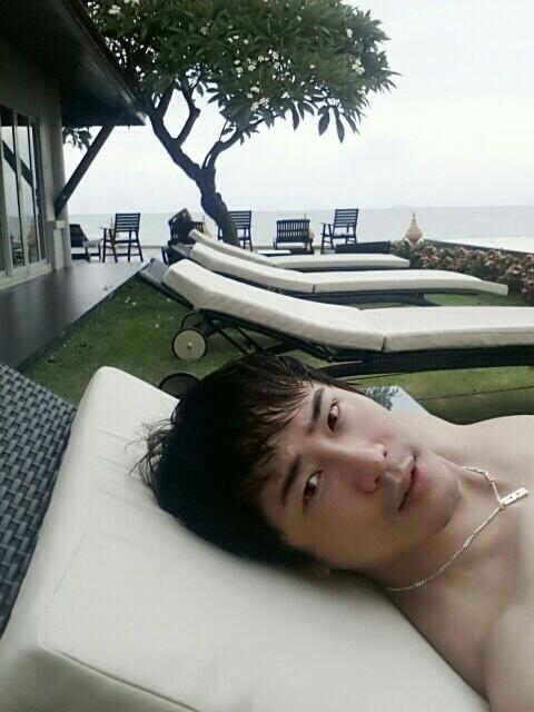 姜至奐泰國度假照