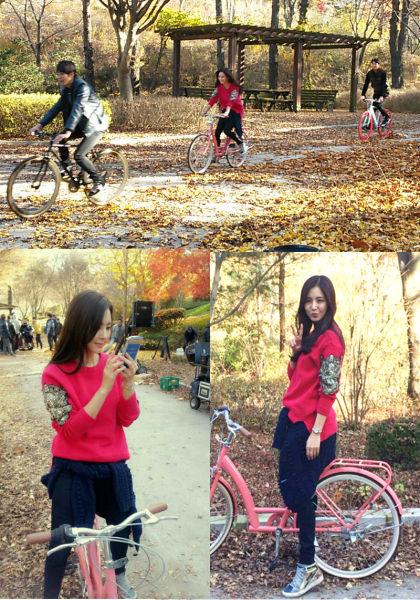 《未來的選擇》韓彩雅公開騎腳踏車認證照