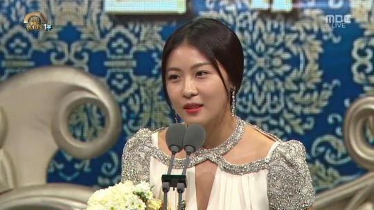 女神歸來 河智苑獨攬MBC三大獎項
