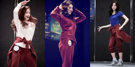 《Miss Korea》舞蹈中的李妍熙 即使穿著體育服也無法掩蓋的好身材