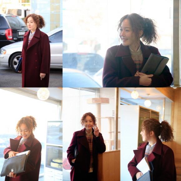 嚴智苑,「結婚三次的女人」拍攝現場幕後花絮照「時尚達人的魅力」