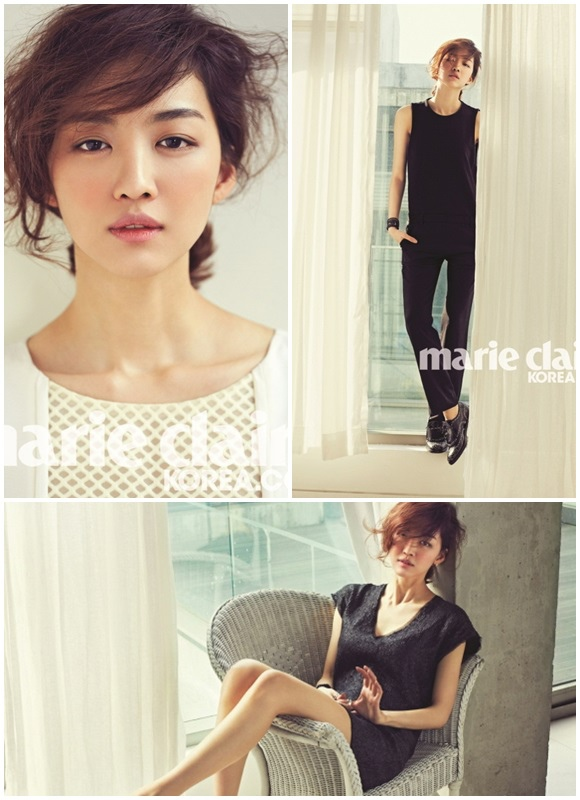 張熙軫,通過畫報 消化下時尚的法式冷酷裝 「視線集中」
