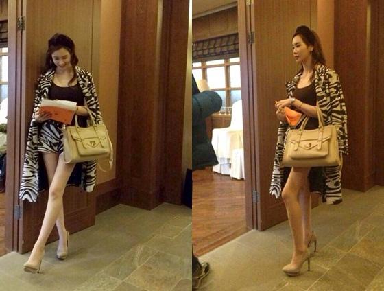 「Hotel King」李多海,繼承女時尚 引發熱議..斑馬紋+大手提袋