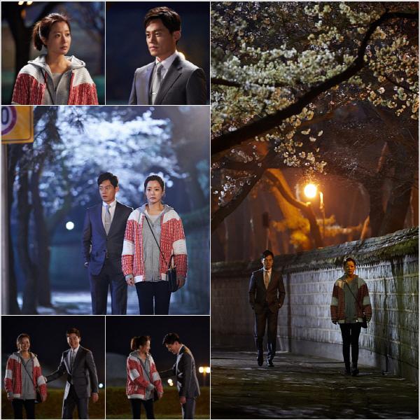 《真是好時節》劇透照:李瑞鎮金喜善櫻花樹下約會