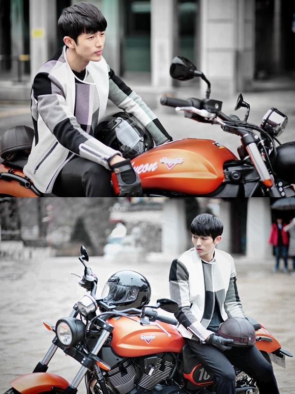 「Hotel King」任瑟雍,為了李多海騎摩托車變身魄力男