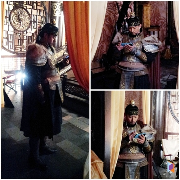 「奇皇后」朱鎮模,有時間就觀看自己的演技「熱血高麗王」