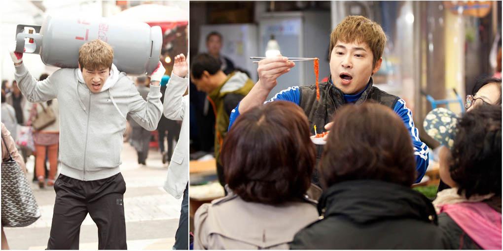 《Big Man》曝姜志煥劇照 扛煤氣賣菜樣樣精通 _2