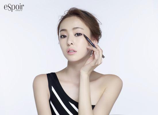 韓星李多喜拍眼妝寫真五官精緻嫵媚迷人_1