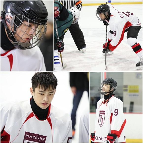 「高校處世王」徐仁國,變身冰球選手「男人魅力釋放」