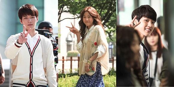 「High School」優鉉-賽綸-成烈,3種不同的V字姿勢「受到關注」
