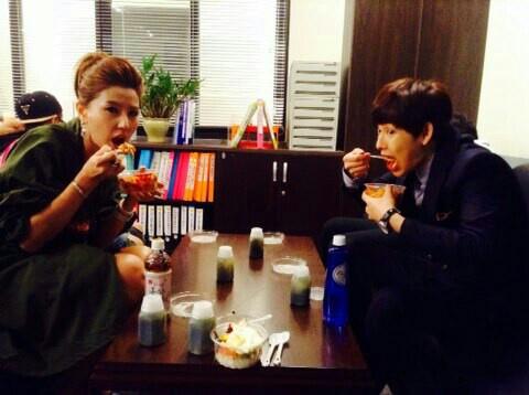「Triangle」李允美,和任時完的情侶吃貨「和你一起吃,好好吃」