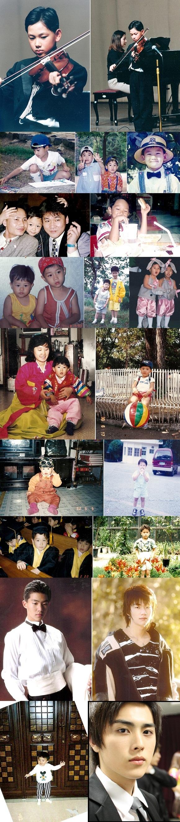 ZEA帝國之子 幼年時期照片公開,「全員都是天生美男 認證」