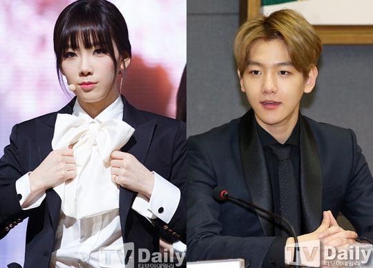 驚!少女時代太妍、EXO伯賢被曝姐弟戀SM娛樂無回應