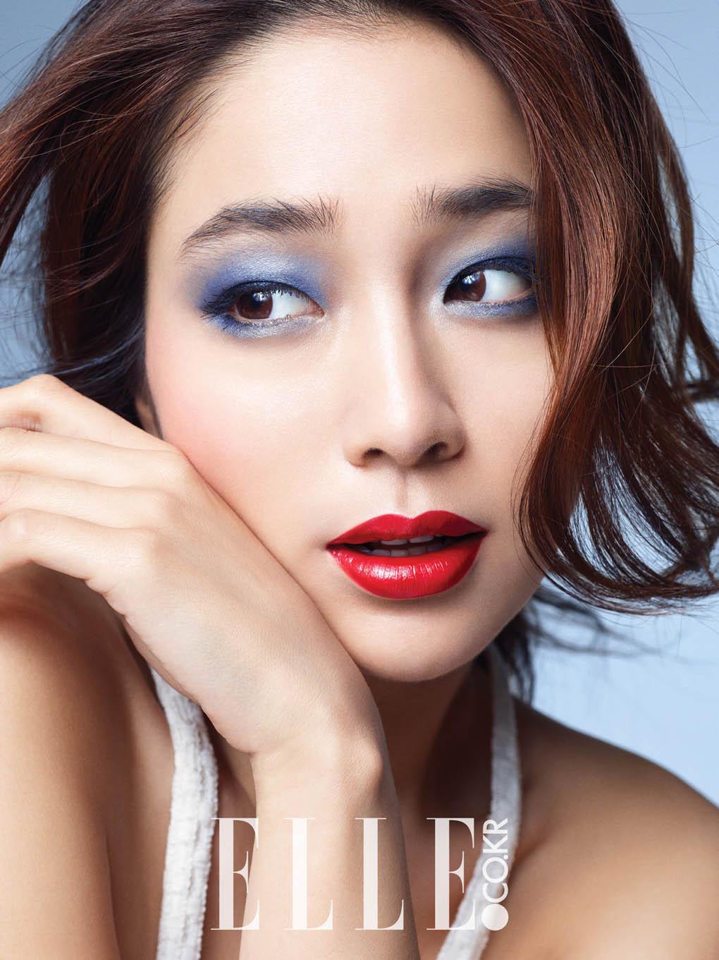李敏貞拍美妝寫真 接拍下部作品前與李秉憲度暑假