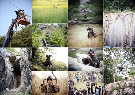 《朝鮮神槍手》畫面唯美 拍攝技術趕超電影