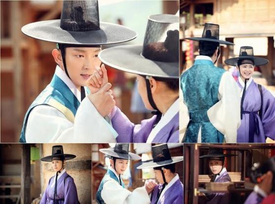 《朝鮮神槍手》南相美男裝扮相 帽子太大看不清臉