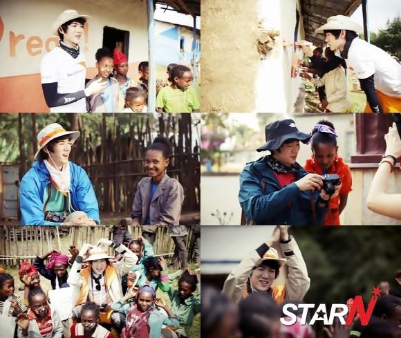 劉延錫,非洲志願者活動現場影像公開..飽含真心的「善舉」