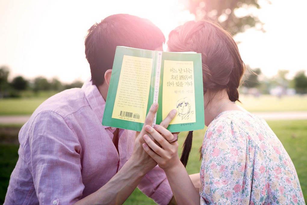 神話Eric與鄭有美主演新劇《戀愛的發現》曝唯美劇照 _1