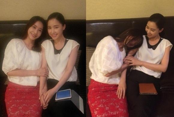 「Hotel King」孔賢珠-王智慧,拍下認證照「美好的友情」