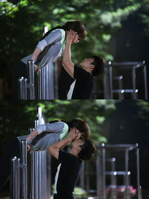 《高校處世王》劇透照徐仁國李荷娜鐵柵欄之吻甜蜜滿分