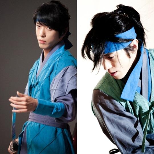 CNBLUE鄭容和《三個火槍手》中變帥氣劍客