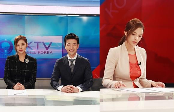 「最佳婚姻」朴時妍-裴秀彬,新聞主播照「像真的一樣」