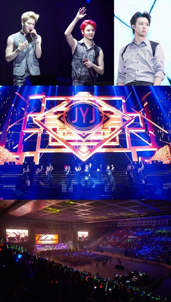 JYJ北京演唱會吸引8000餘名粉絲到場 大陸人氣令人咂舌