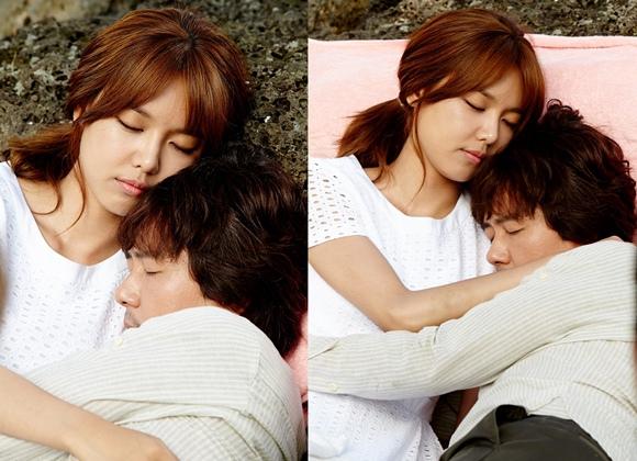 《我人生的春天》甘宇成秀英情侶公開甜蜜擁抱照