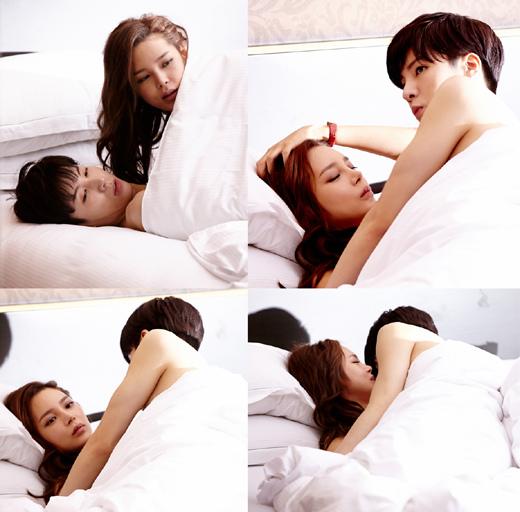 《最佳結婚》朴詩妍魯敏宇公開床戲劇照