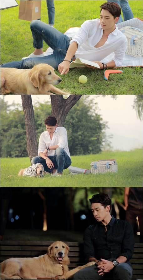 《對我而言可愛的她》曝Rain和狗狗劇照