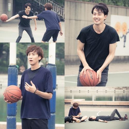 《是愛情》趙寅成李光洙揮汗濕身打籃球
