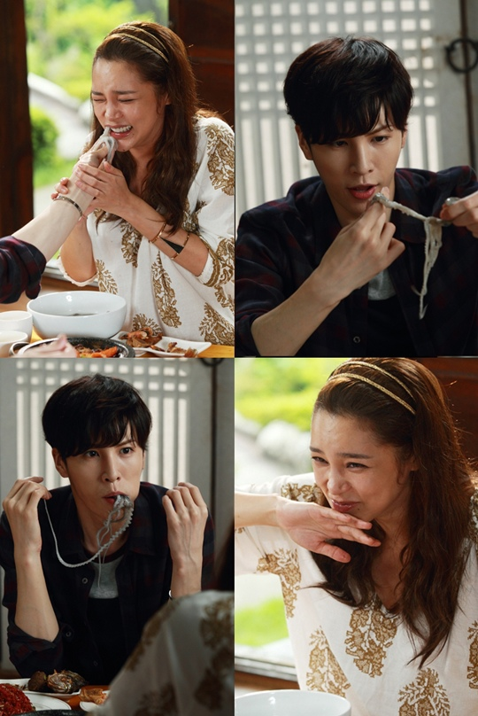 《最佳結婚》朴詩妍魯敏宇生吃章魚