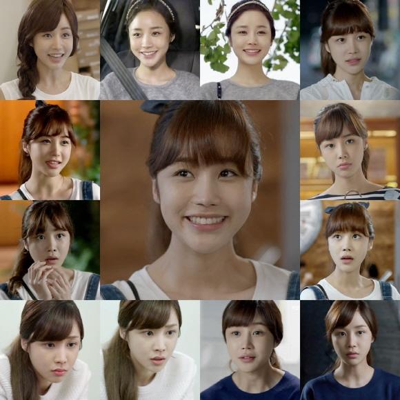 「戀愛的發現」尹真伊,從活潑到悲痛..13種不同的表情