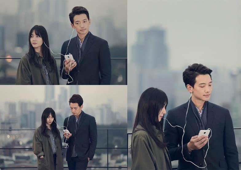 《對我而言可愛的她》劇透照 Rain與Krystal分享耳機似戀人