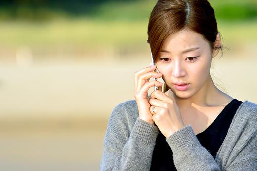 《湔雪的魔女》韓智慧在日落的海邊拍首場戲 _1